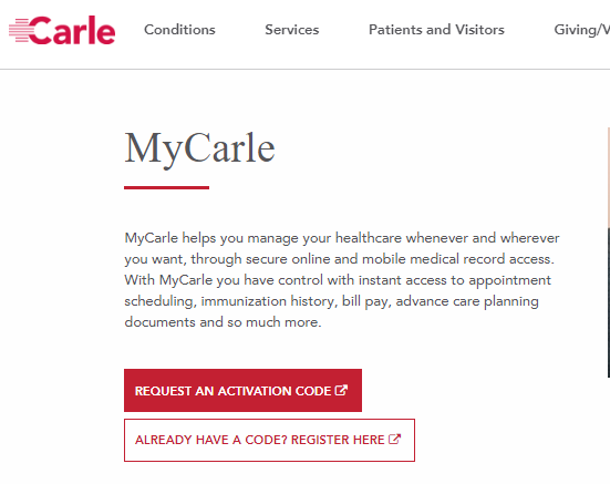 Mycarle Login & How To Sign Up For Mycarle